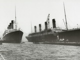 RMS Titanic and RMS Olympic  03/02/1912