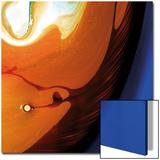 Orange Swirling Abstract  c2008