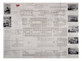 This 'Titanic' Deck Plan Is Really a Modification of That of the RMS Olympic