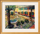 The Asylum Garden at Arles  c1889