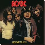 AC/DC-Highway to Hell Tableau sur toile