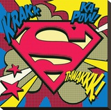 Superman-Pop Art Shield