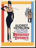 Audrey Hepburn -Breakfast at Tiffanys One Sheet