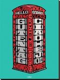 Visit London-Telephone Box Tableau sur toile