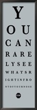 Eye Chart II