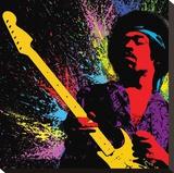 Jimi Hendrix-Paint