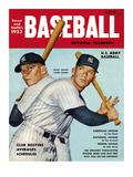 Sporting News Magazine  1953 - Mickey Mantle - Yankee Bomber