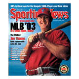 Philadelphia Phillies DH Jim Thome - March 31  2003