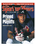 Atlanta Braves OF Andruw Jones - October 9  2000
