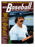 New York Yankees P Catfish Hunter - 1975 Street and Smith&#39;s