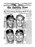 Willie Mays  Mickey Mantle  Tommy Davis and Leon Wagner - July 21  1962
