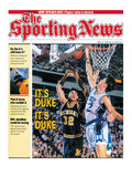 Duke Blue Devils&#39; Christian Laettner - National Champions - April 13  1992