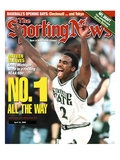Michigan State Spartans' Mateen Cleaves - National Champions - April 10  2000