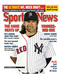 New York Yankees and Boston Red Sox OF Johnny Damon - May 5  2006
