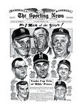 Men of the Year Roger Maris  Warren Spahn  Ralph Houk and more - January 3  1962