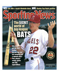 Anaheim Angels SS David Eckstein - June 2  2003