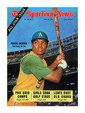 Oakland Athletics OF Reggie Jackson - July 26  1969