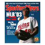 Minnesota Twins CF Torii Hunter - March 31  2003