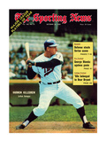 Sporting News Magazine October 25  1969 - Minnesota Twins&#39; Harmon Killebrew - Lethal Swinger
