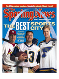 Best Sports City St Louis - Jim Edmonds  Chris Pronger and Kurt Warner - August 14  2000