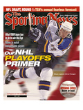 St Louis Blues Captain Chris Pronger - April 17  2000