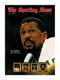 Boston Celtics' Bill Russell - March 14  1970
