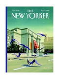 The New Yorker Cover - April 5  1999