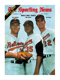 Baltimore Orioles Dave McNally  Mike Cuellar and Jim Palmer - October 17  1970