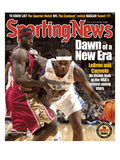 Cleveland Cavaliers' LeBron James and Denver Nuggets' Carmelo Anthony - November 17  2003