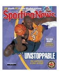Los Angeles Lakers' Shaquille O'Neal and Minnesota Timberwolves' Kevin Garnett - June 7  2004
