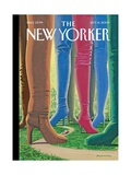 The New Yorker Cover - September 14  2009
