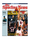 Chicago Bulls Scottie Pippen and Scott Williams - NBA Champions - June 22  1992