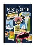 The New Yorker Cover - April 18  2005