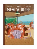 The New Yorker Cover - August 4  1997