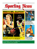 Boston Celtics&#39; Larry Bird and LA Lakers&#39; Magic Johnson - March 31  1986