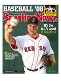 Red Sox Boston RP Jonathan Papelbon - March 17  2008