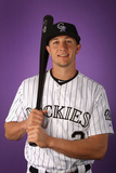 Scottsdale  AZ - February 28: Colorado Rockies Photo Day - Josh Roenicke