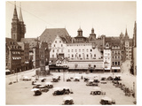 Main Market in Nuremberg  1902