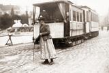 A Switchwoman in Munich  1910
