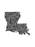 Typographic Louisiana