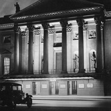 The Staatsoper Unter Den Linden in Berlin at Night  1933