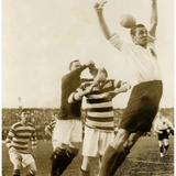 Soccer Match Between Scotland and Germany  1922