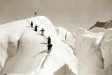 Climbers in the Swiss Alps  1908