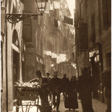 Old Town of Genoa  around 1930