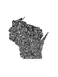 Typographic Wisconsin