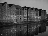 Warehouses on the 'Tar Court' in Bremen  1936