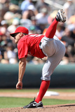 Scottsdale  AZ - March 27: Los Angeles Angels of Anaheim v San Francisco Giants - Buster Posey