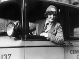 Female Taxi Driver in Philadelphia  1926