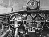 View of the Cockpit of a Junkers G-23 Aircraft  1926