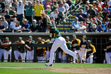 Phoenix  AZ - March 10: Cincinnati Reds v Oakland Athletics - Yoenis Cespedes